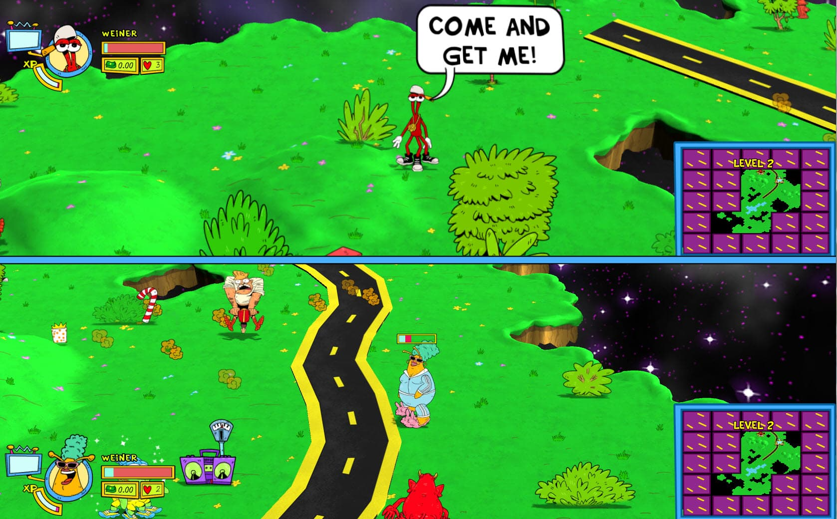 ToeJam & Earl: Back in the Groove Xbox One