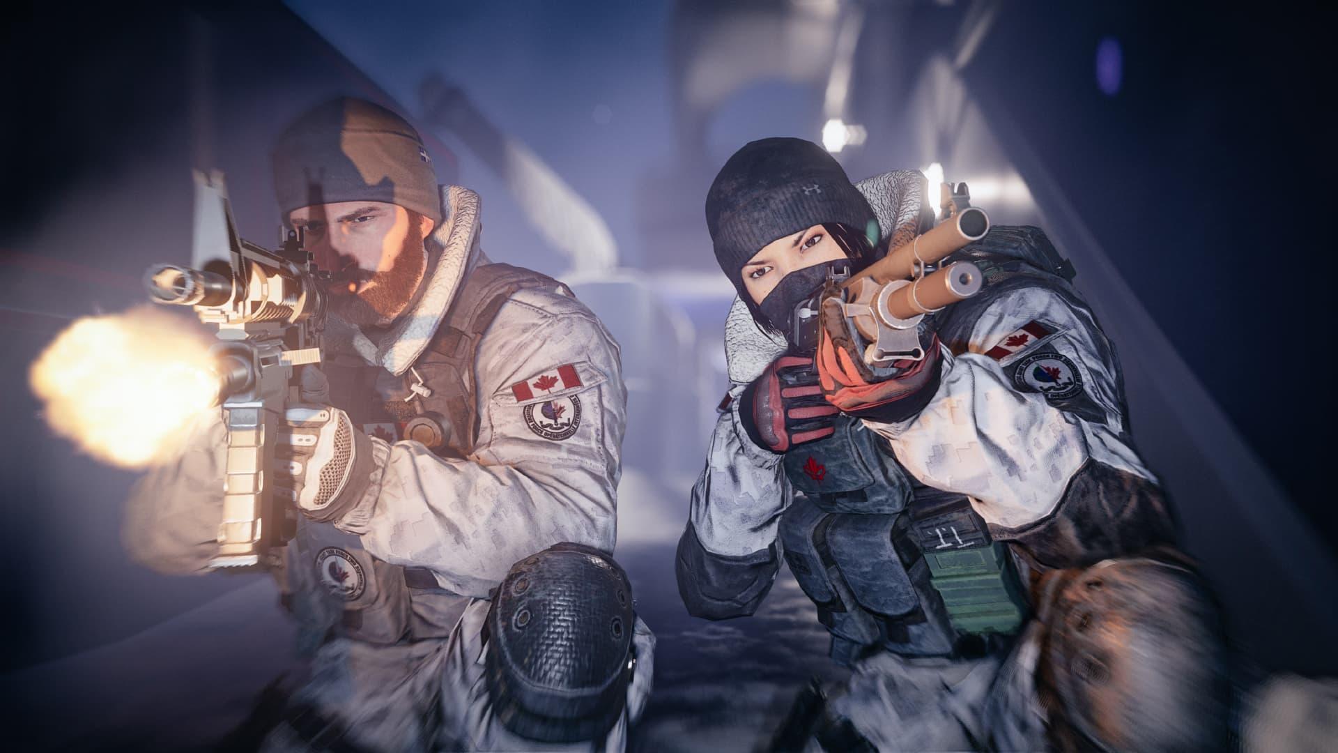 Ton Clancy's Rénbow Six Siege: Opération Black Ice