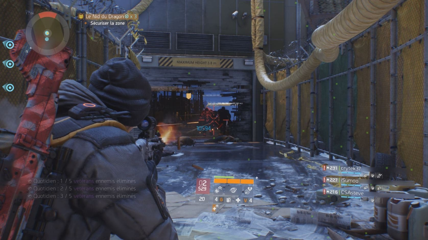 Tom Clancy's The Division: Souterrain Xbox