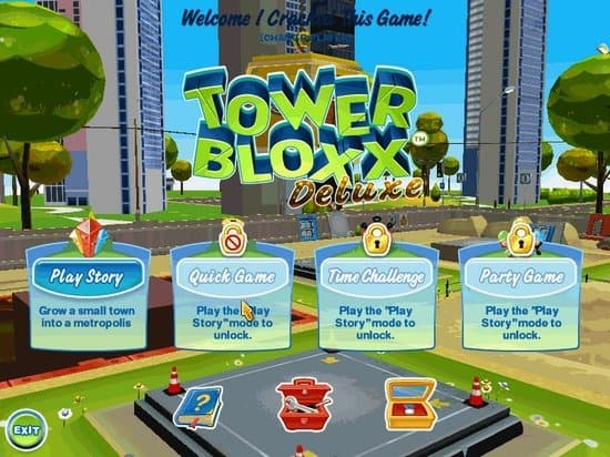 Tower Bloxx Deluxe Xbox