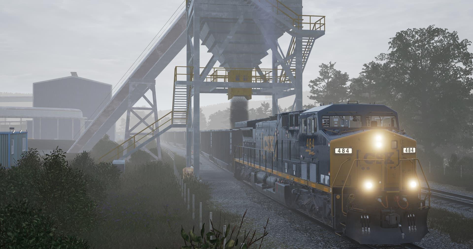 Trén Sim World: CSX Heavy Hol
