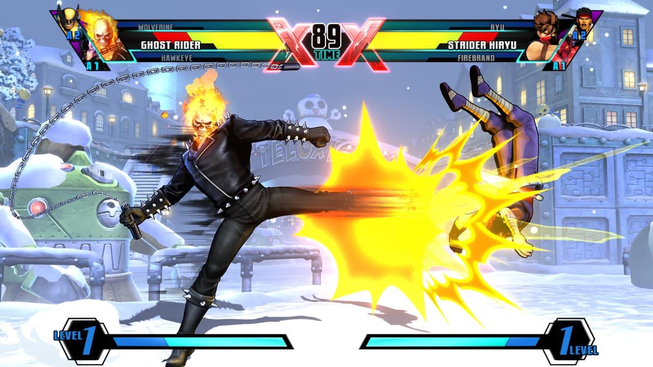 Ultimate Marvel vs Capcon 3