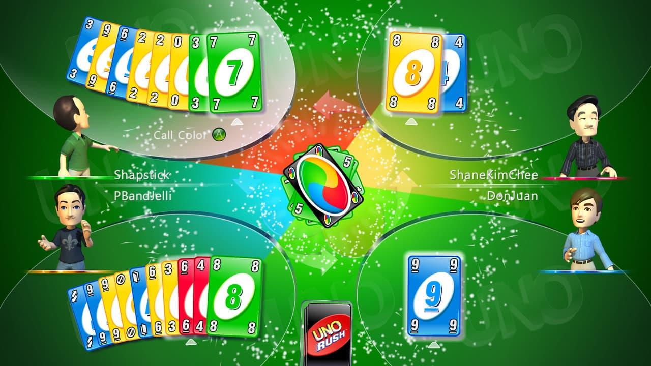 Uno Rush Xbox 360