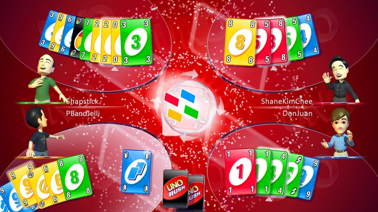 Xbox 360 Uno Rush