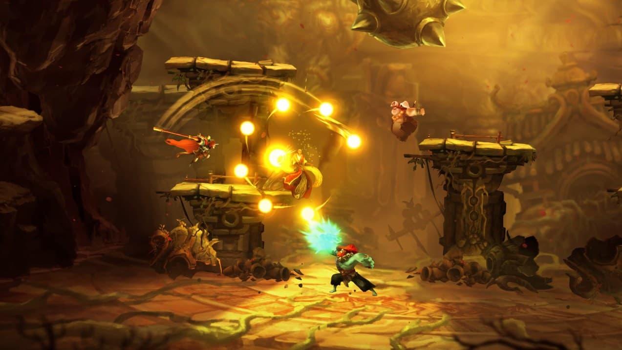 Unruly Heroes Xbox