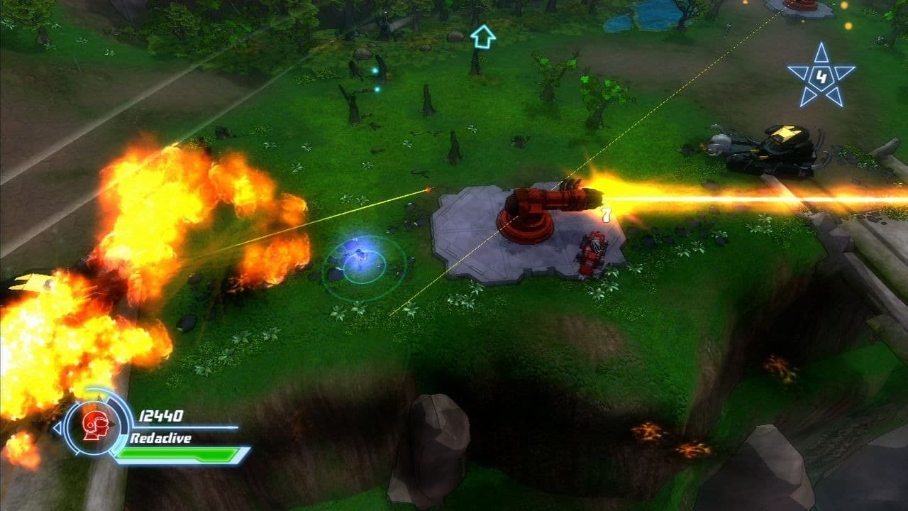 Xbox 360 Voltron: Defender of the Universe