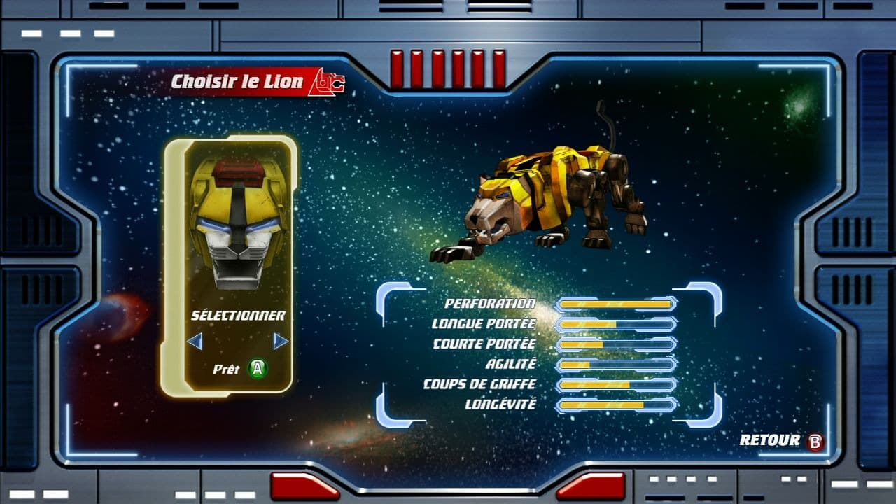 Voltron: Defender of the Universe Xbox