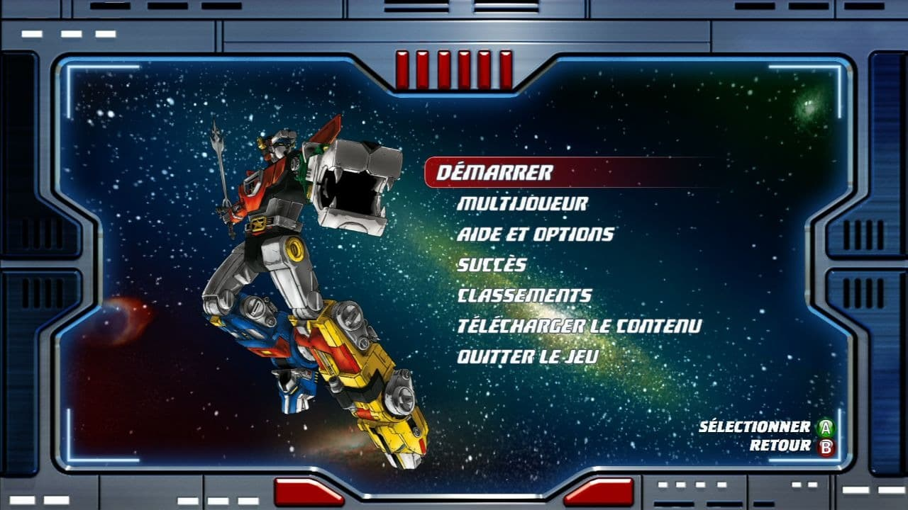 Voltron: Defender of the Universe Xbox 360