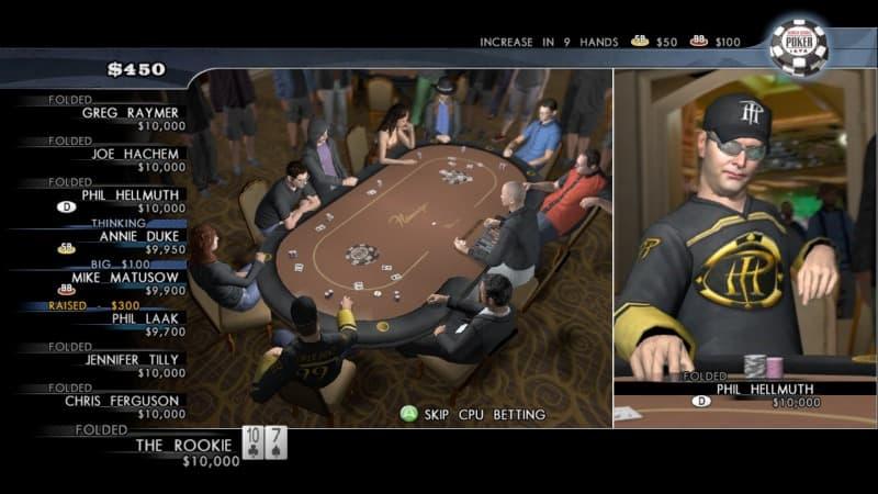 Xbox 360 World Series of Poker 2008: Battle for the Bracelets