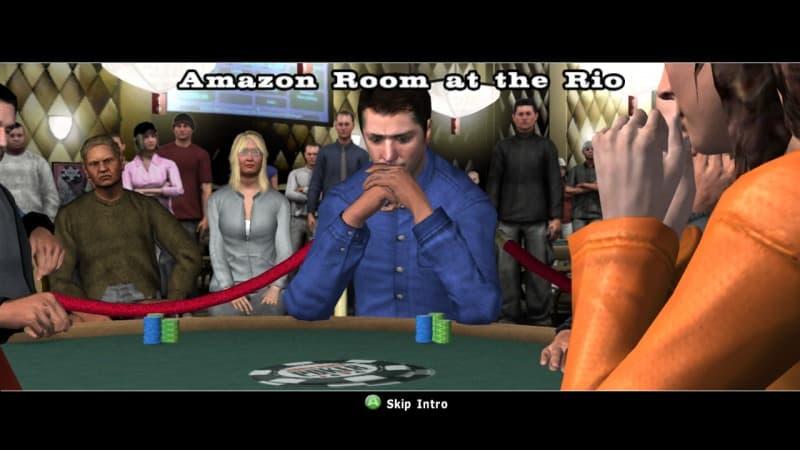World Series of Poker 2008: Battle for the Bracelets Xbox