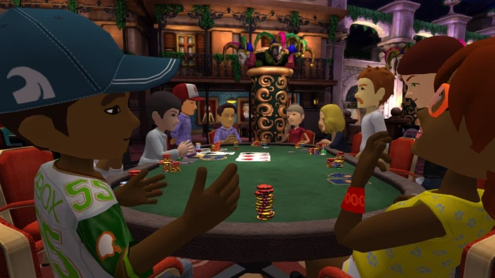Xbox 360 World Series of Poker
