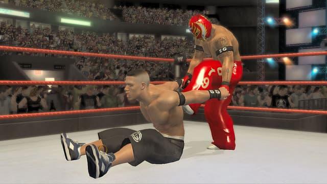 Xbox 360 WWE Smackdown vs Raw 2007