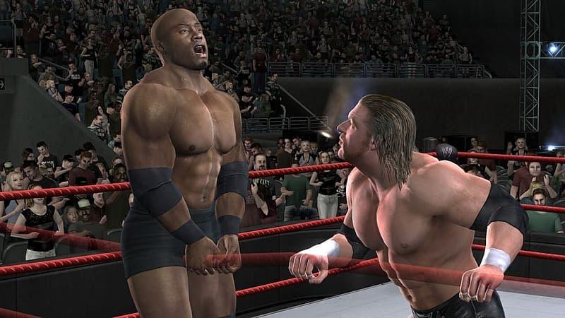 Xbox 360 WWE Smackdown vs Raw 2008