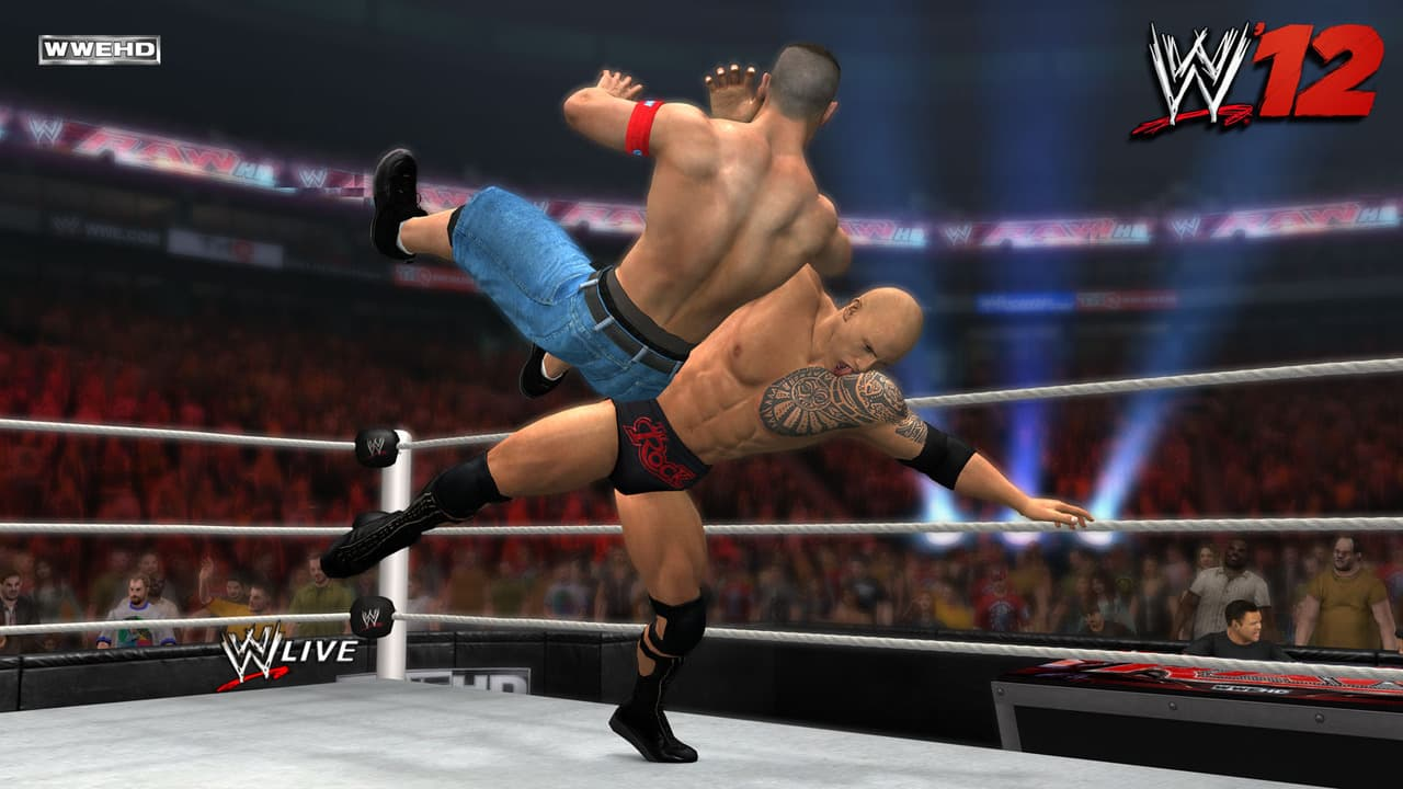 WWE'12 Xbox