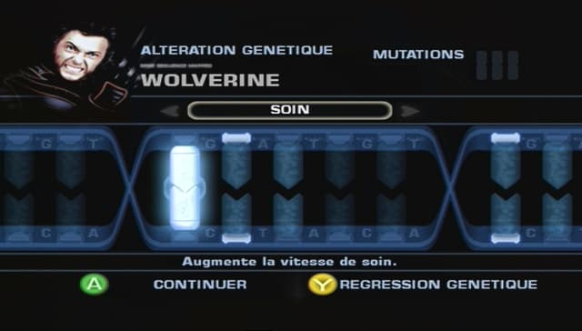 X-Men: Le Jeu Ophphiciel