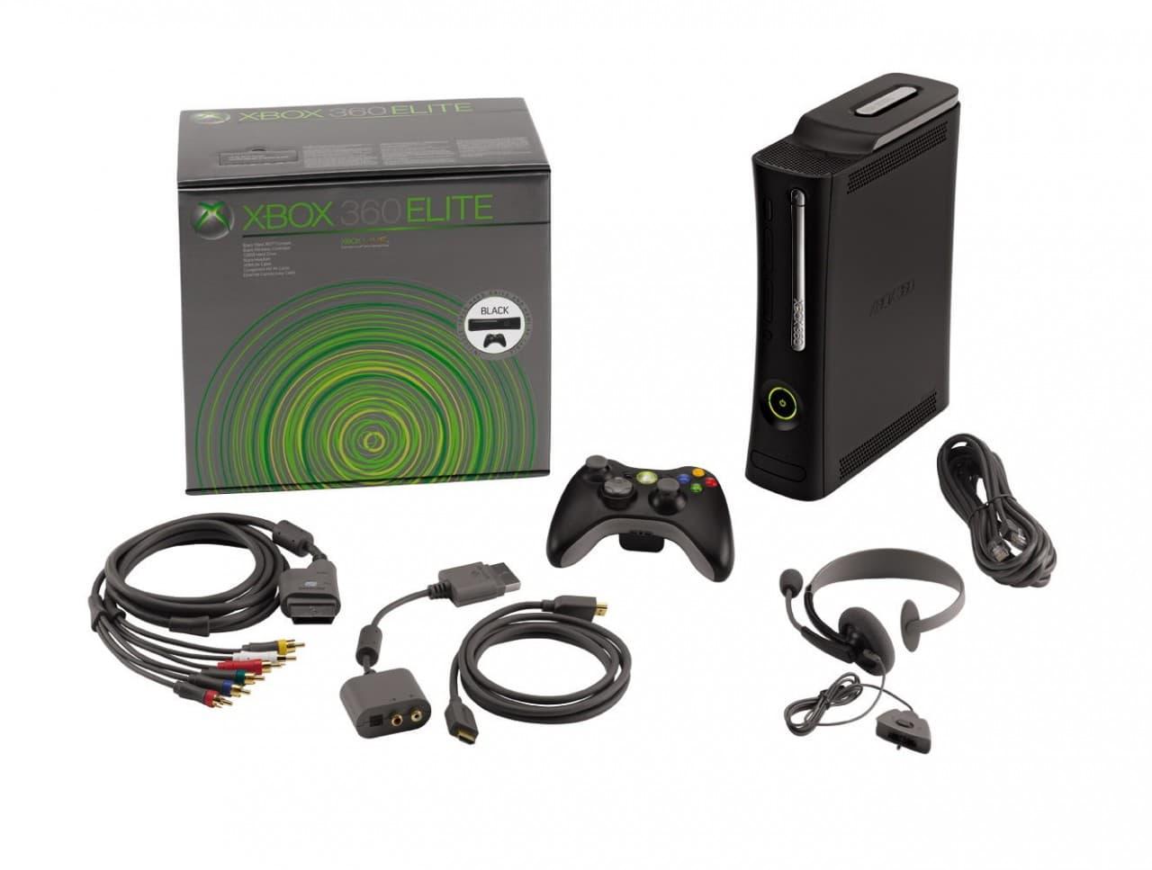 La Xbox 360 élite