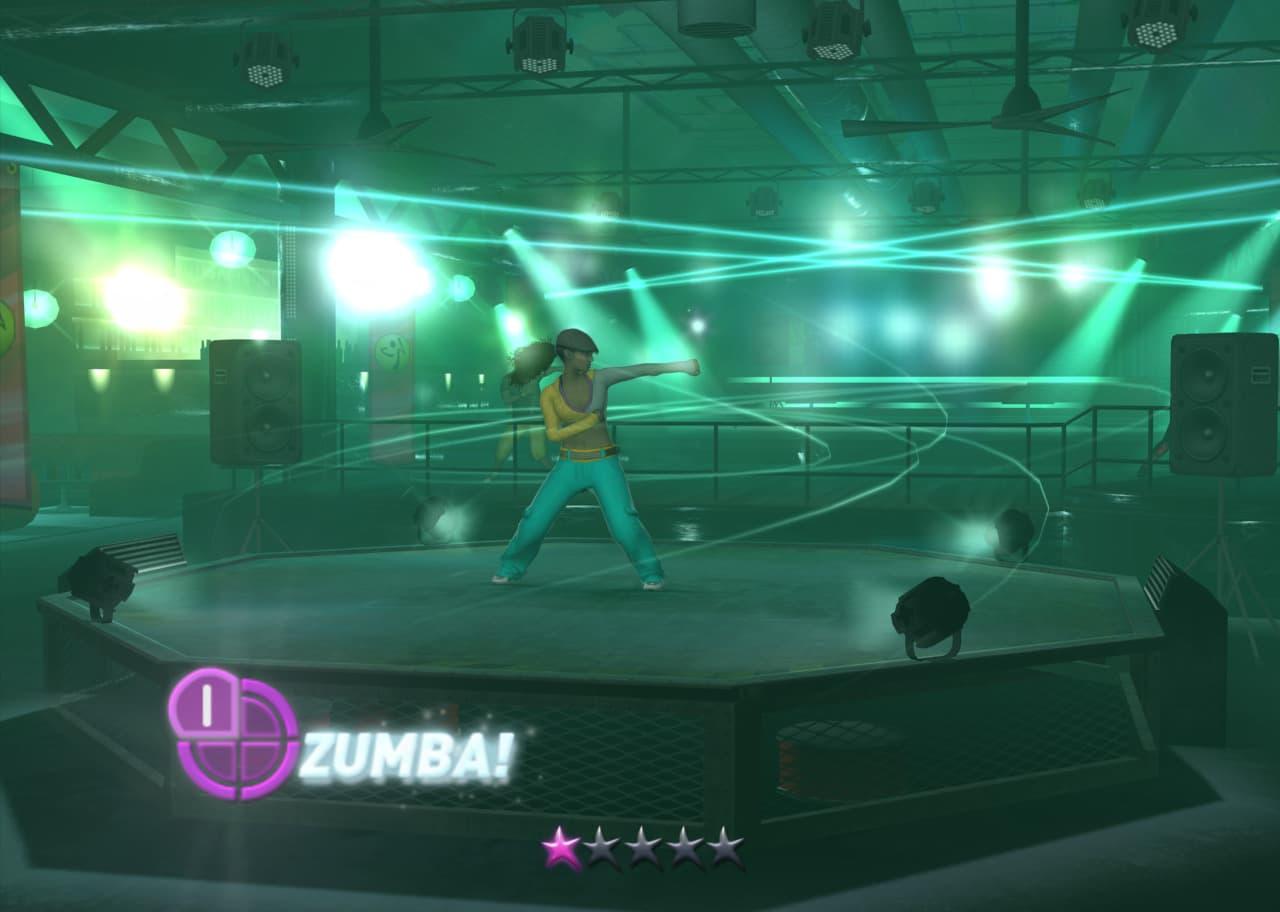 Xbox 360 Zumba Fitness 2
